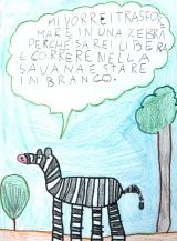 Una zebra