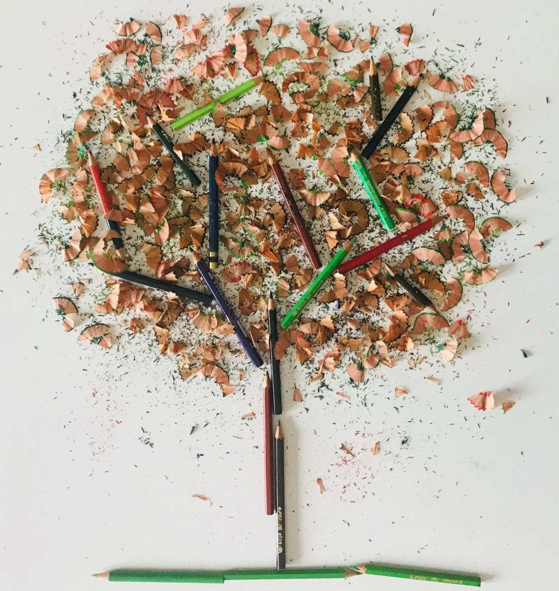 L'albero di matite (filastrocca)